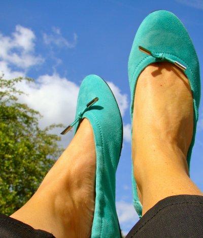 Couleur du jour: turquoise