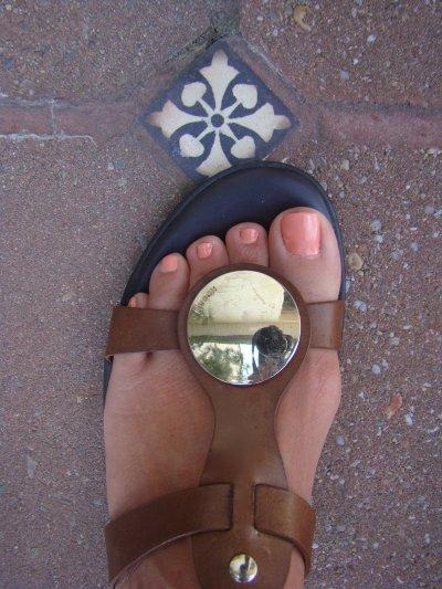 La couleur parfaite pour les pieds