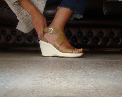 Des sandales compensé, enfin!