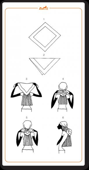 Savez-vous nouer vos foulards (1)