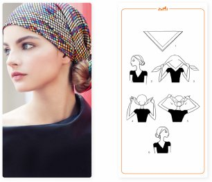 Savez-vous nouer vos foulards (2)
