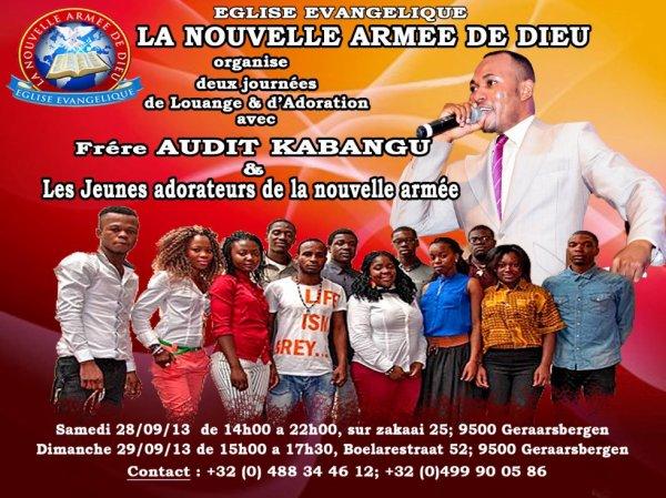 journee des jeunes et concert de fr audit kabangu