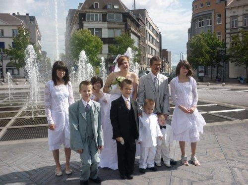 le parain et sa tati au  mariage