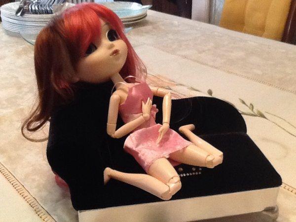 Dalia la magnifique danseuse ( Photos fait par l'iPad de la Marianne de Zeldica )...