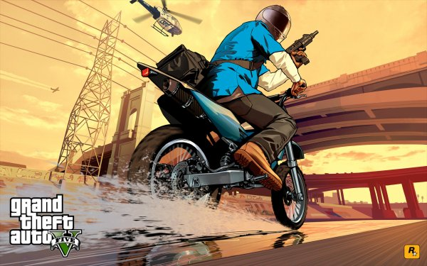 # 16/04/2013 : Les artworks de la jaquette GTA V en HD