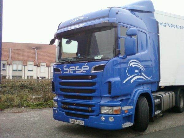 Scania R 500 v8