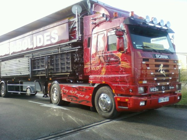 Scania 143 H v8 580