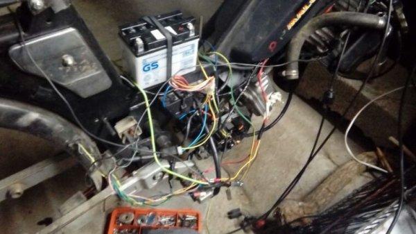 Avancée du circuit electrique