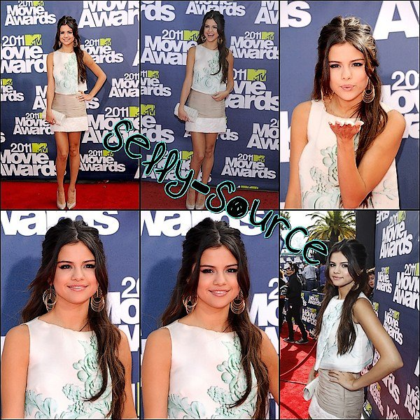 Le 5 Juin: Selena au MTV Movie Awards 2011