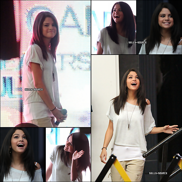 "Ҩ Le 25 juin: Selena au promotion ""MONTE CARLO"" au north shore mall"