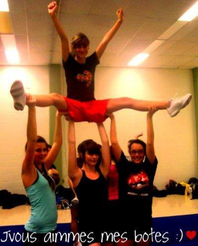 Le Cheerleading !
