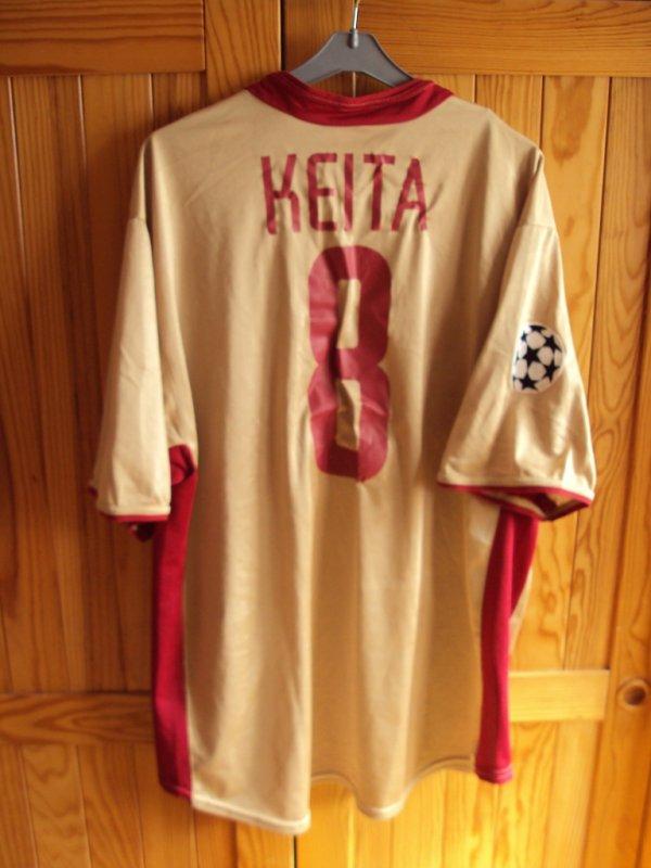 Maillot de Lens porté par Seydou Keita en ligue des champions saison 2002/2003 a vendre