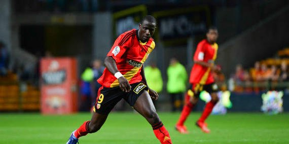 Maillot de lens porté par Adamo Coulibaly saison 2013/2014