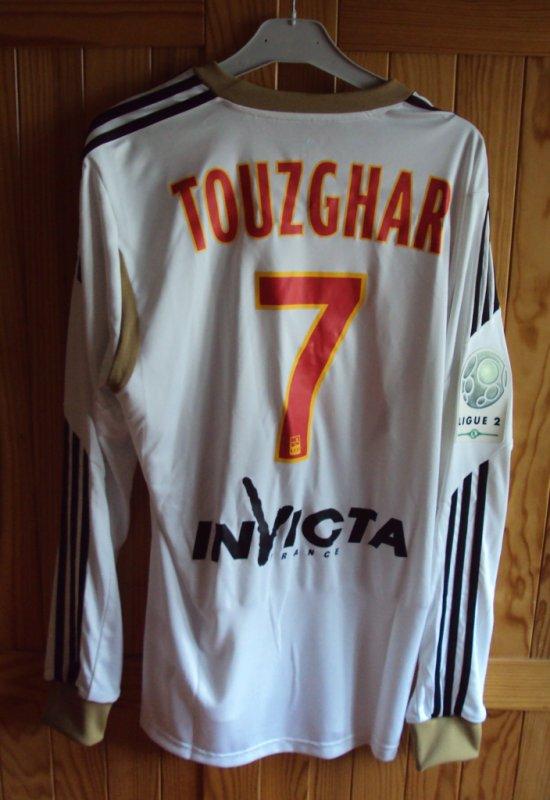 Maillot de Lens extérieur porté par Yohan Touzghar  saison 2013/2014