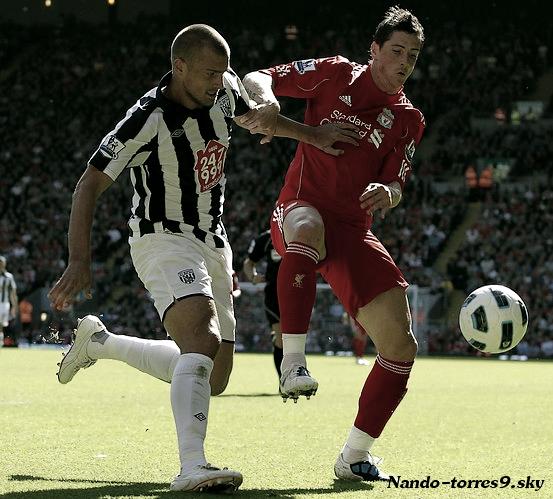 Premier League - Episode 3.    LIVERPOOL 1-0 WEST  BROMWICH   Anfield, le 29 Août 2010.