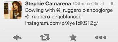 Jorge et Stephie à une soirée :