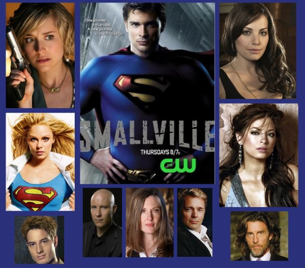 """ SMALLVILLE "" A  PRIT FIN DEFINITIVEMENT APRES 10 ANS !!!"