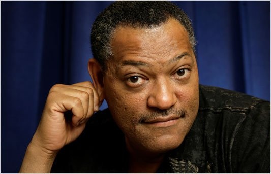 "LE CHOC  !     "" LAURENCE FISHBURNE "" ALIAS  RAYMOND LANGSTONE QUITTE LES EXPERTS  !!!"