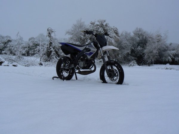 photo shoot avec la neige