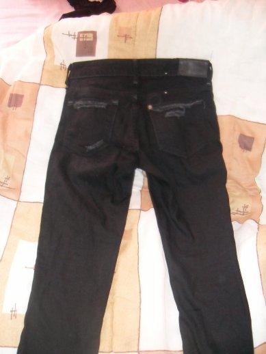 Jeans noir destroy