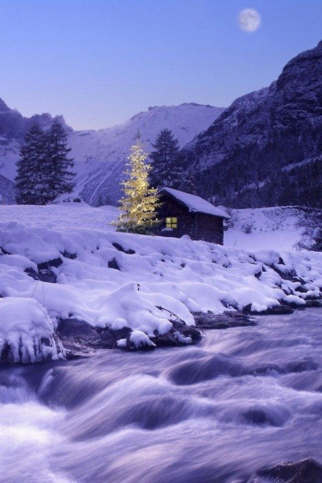 cela est si joli l'hivers