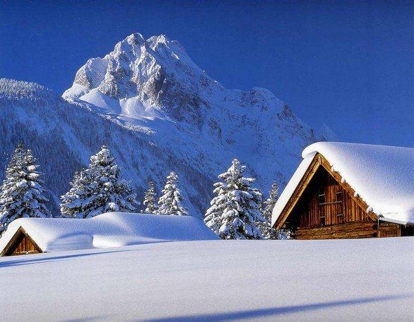 j'adore la neige lorsqu'elle n'est pas souillé c'est très beau