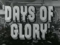 Jours de gloire