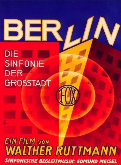Berlin, symphonie d'une grande ville