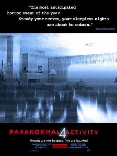 Paranormal activity IV