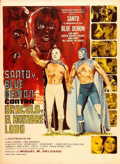 Santo et Blue Demon contre Dracula et l'Homme-loup