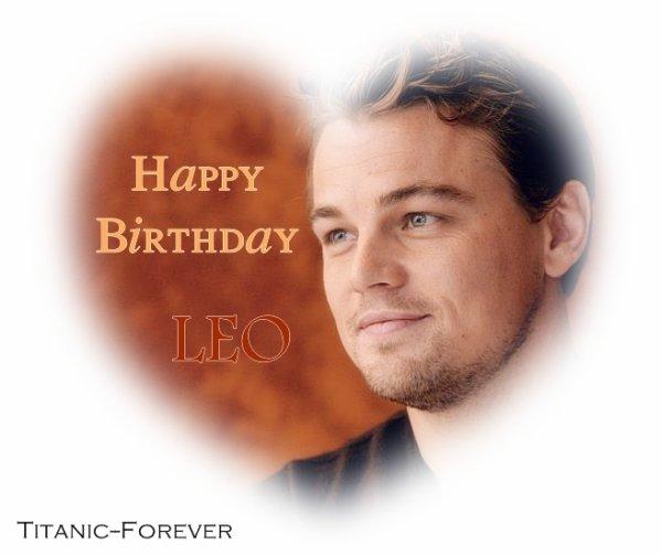 .  >> Happy Birthday Leo !   . ●Newsletter ●Michael-Vaughn ●Amis ? ●Fan ? ●Affilié ? ●LaViePriveDesStars ●Boîte à questions.