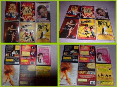 Filmes, concerts...