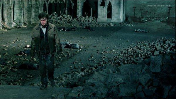 Photo EXCLUSIVE de Harry Potter et les reliques de la mort partie 2 !!!!! Avec les effet spéciaux