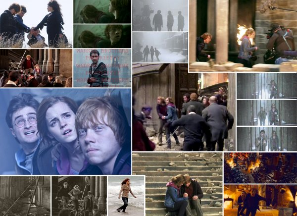 Photos exlusive de harry Potter 7 part 2