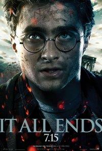 Nouveaux : Poster dévoilé de la partie 2 de Harry potter et les relique de la mort !!
