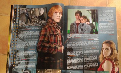 ONE MAGAZINE : Harry potter 7 partie 2
