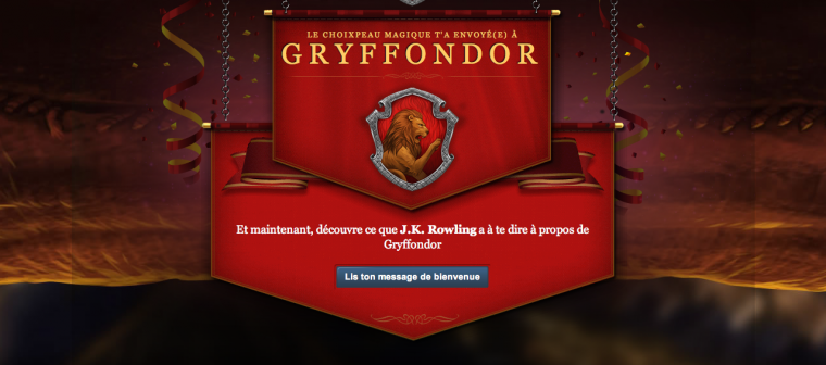 Pottermore is open