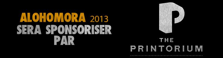 """ALOHOMORA 2013"" Annonce / Sponsor"
