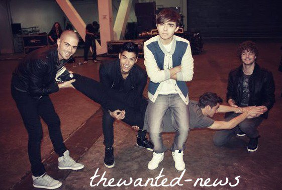 RECHERCHE PHOTO + VIDÉOS THE WANTED A PARIS !