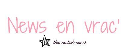 """NEWS : TOURNAGE DE """"I FOUND YOU"""" + WANTED WEDNESDAY + SOIRÉE + VIDÉOS DEMANDÉES"""
