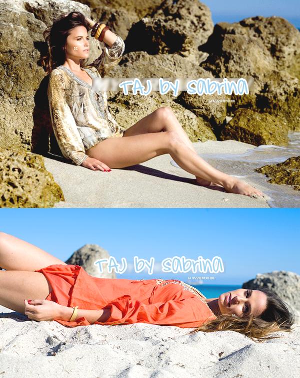 Capucine égérie de la marque TAJ by Sabrina - Photoshoot à Miami (Marie)