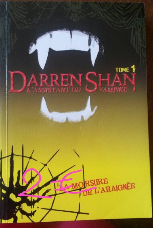 Darren Shan l'assistant du vampire tome 1 : 2¤