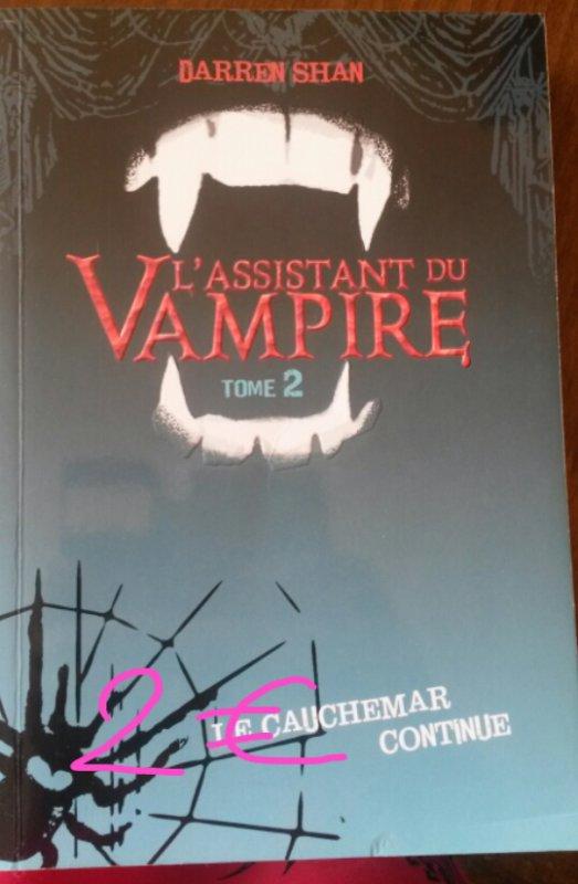 Darren Shan l'assistant du vampire tome 2 : 2¤