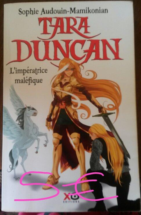 "Tara Duncan tome 8 ""L'impératrice maléfique"" : 5¤"