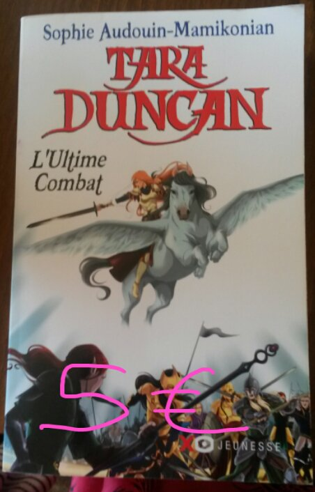 "Tara Duncan tome 11 ""L'ultime combat"" : 5¤"
