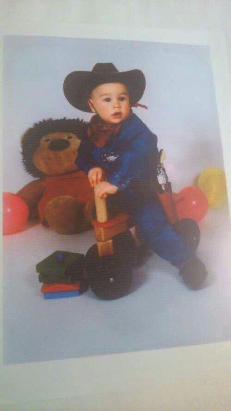 Moi à 2 ans :)