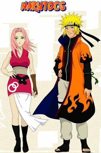 Naruto et Sakura shippuden