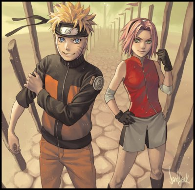 naru and saku shippuden