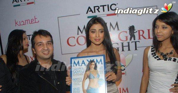 Shriya @Maxim Mag Launch