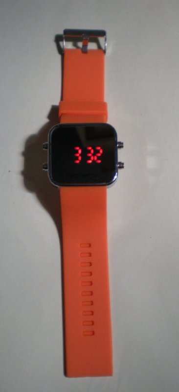 Led Watch Orange Neuf & Emballer : 10¤